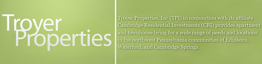 Troyer Properties